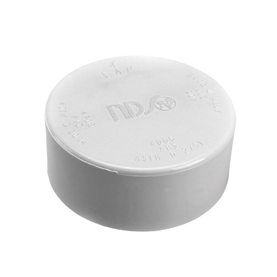 NDS 4-in Dia PVC Sewer Drain Cap