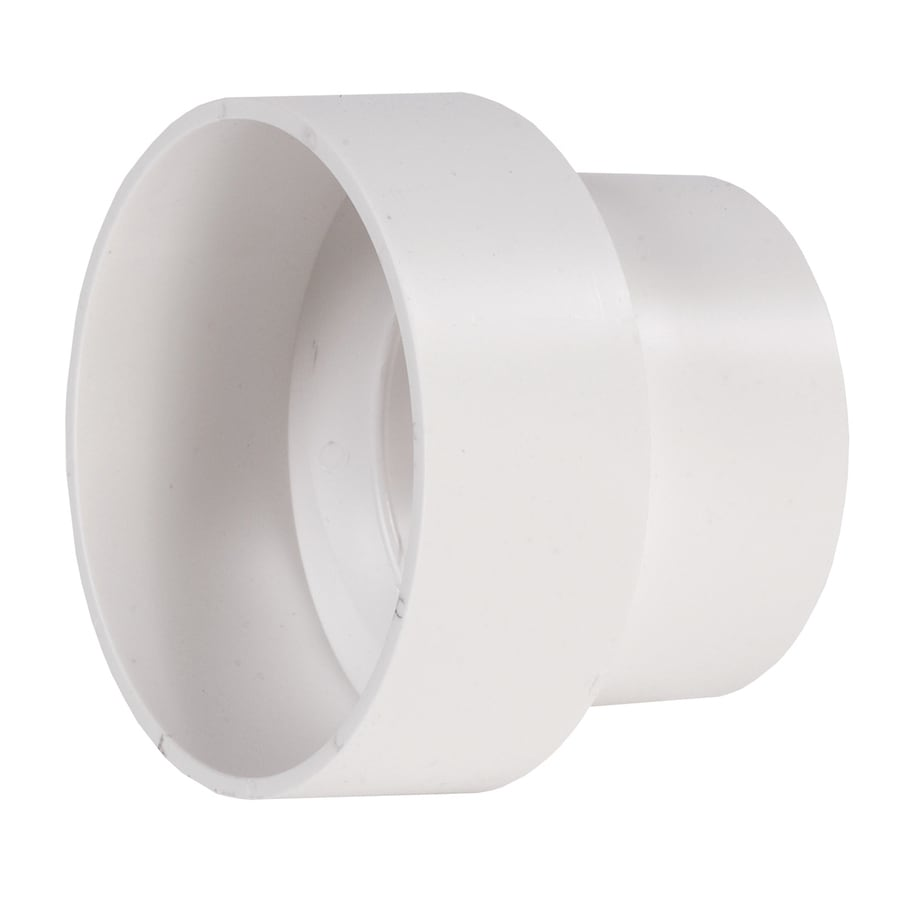 NDS 3-in x 4-in Dia PVC Sewer Drain Coupling