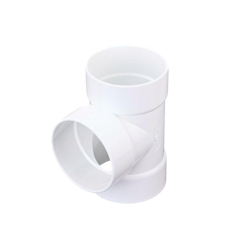 4-in PVC Sanitary Tee Fitting