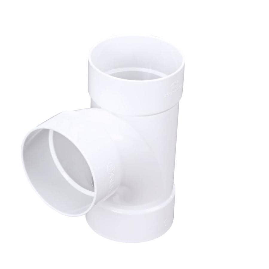 4 Dia PVC Sewer Drain Sanitary Tee