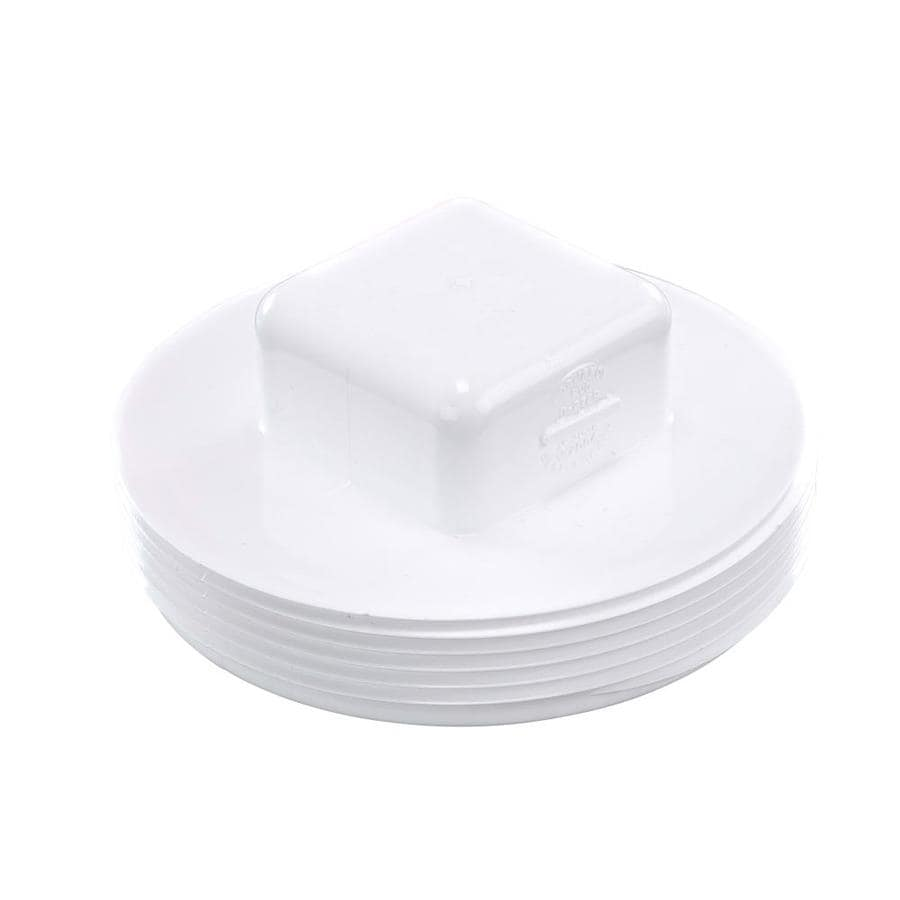 4-in Dia PVC Cleanout Plug Fitting