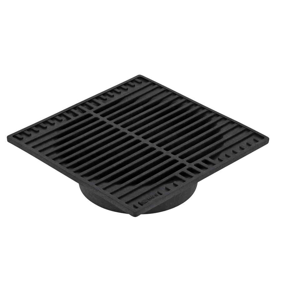 NDS 9-in L x 9-in W Square Square Grate