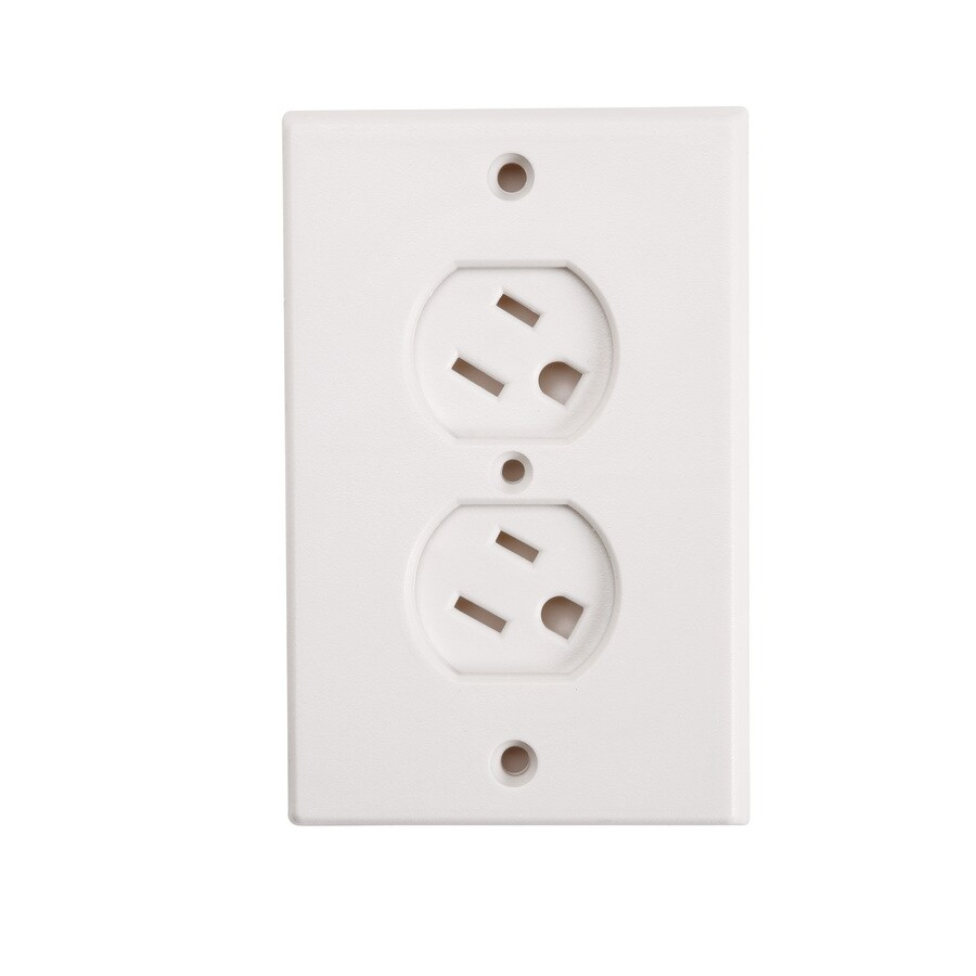 Safety 1st White Swivel Outlet Cover