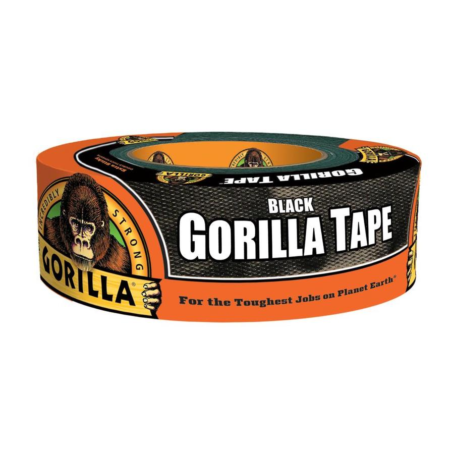 GORILLA TAPE 1.88-in x 105-ft Black Duct Tape