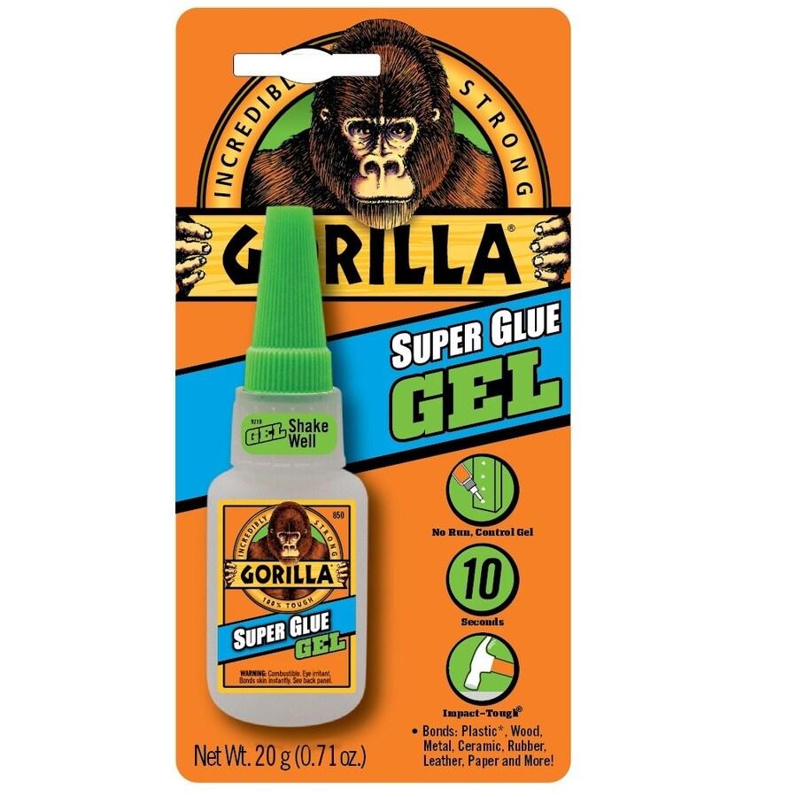 GORILLA Gel 0.71-oz Super Glue Adhesive