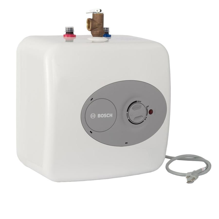 Bosch Tronic 4-Gallon 120-Volt 6-Year Limited Residential Lowboy Point of Use Electric Water Heater