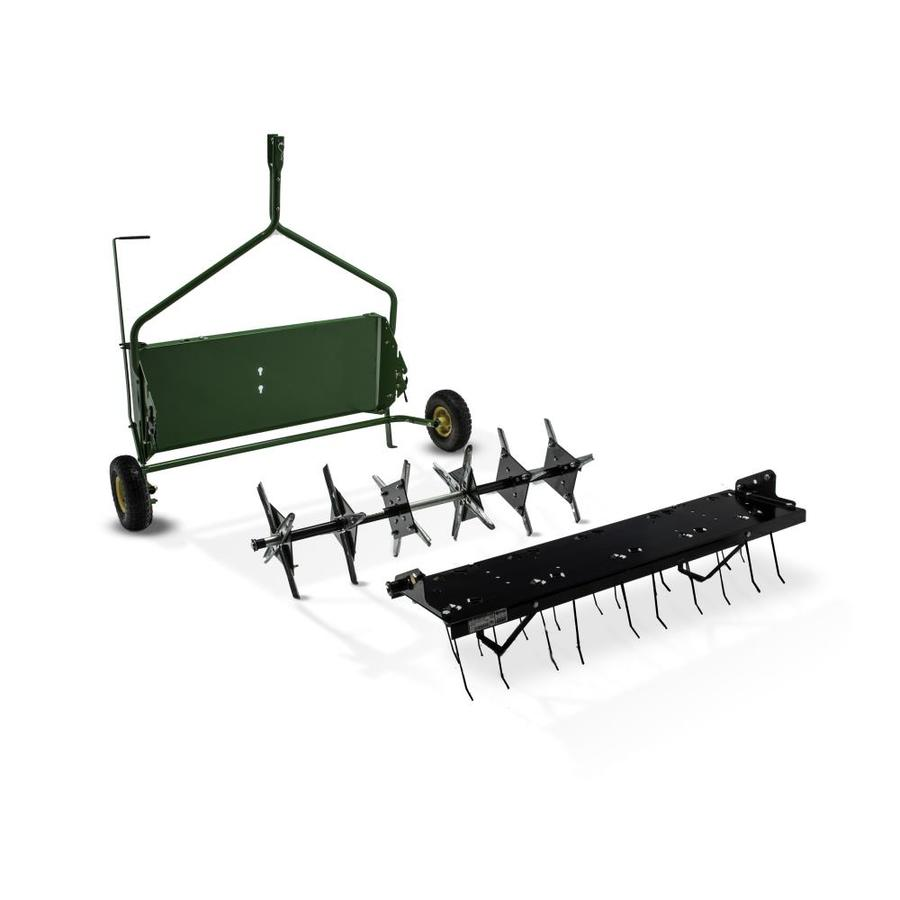 John Deere 40-in Plug Lawn Aerator and Dethatcher