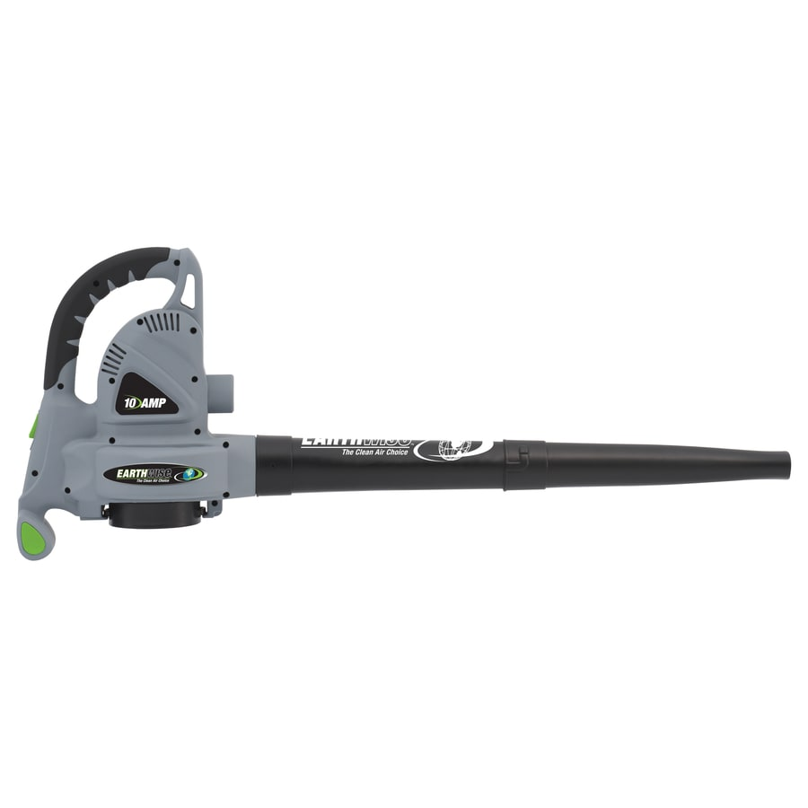 Earthwise 10-Amp 331.8-CFM 225-MPH Light-Duty Corded Electric Leaf Blower with Vacuum Kit
