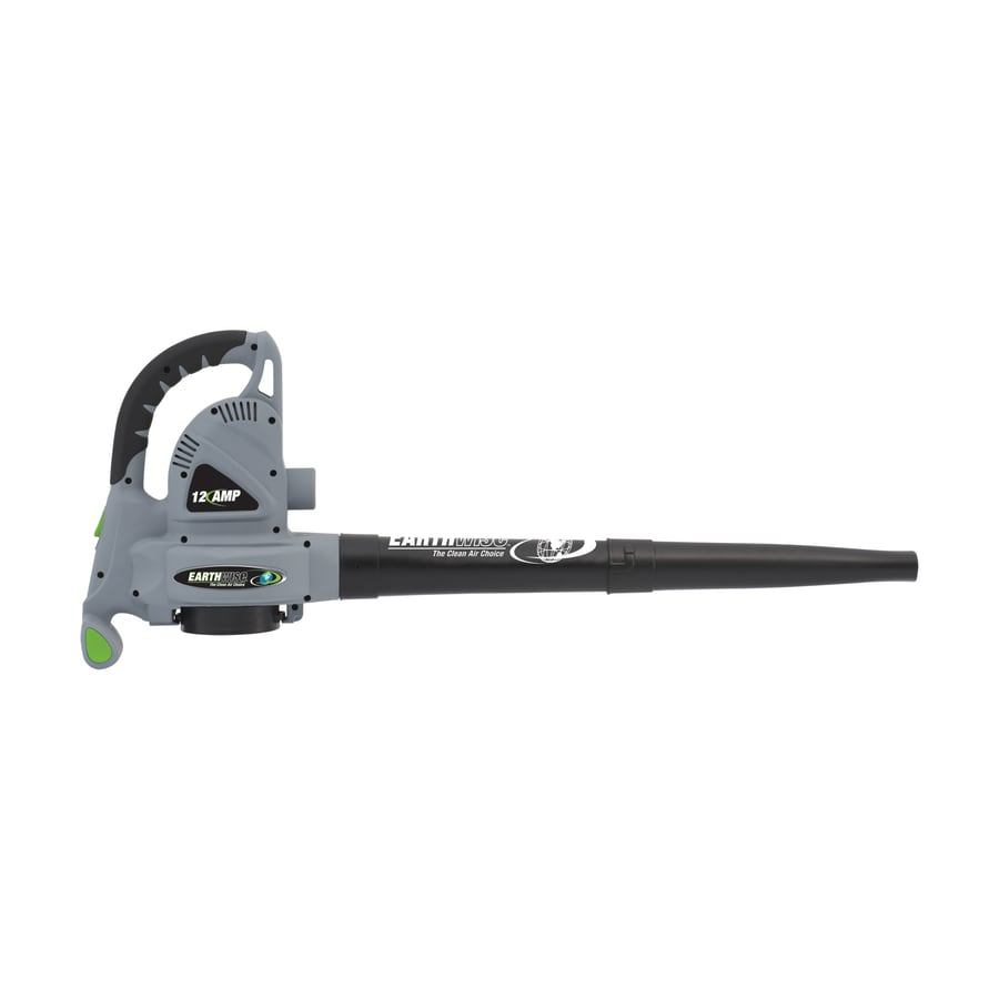 Earthwise 12-Amp 368.7-CFM 250-MPH Light-Duty Corded Electric Leaf Blower with Vacuum Kit