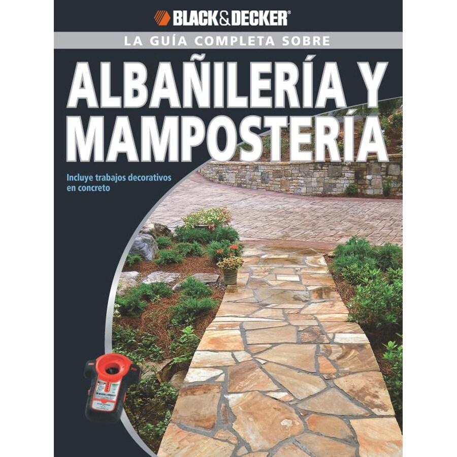 Black and Decker Albanileria Y Mamposteria