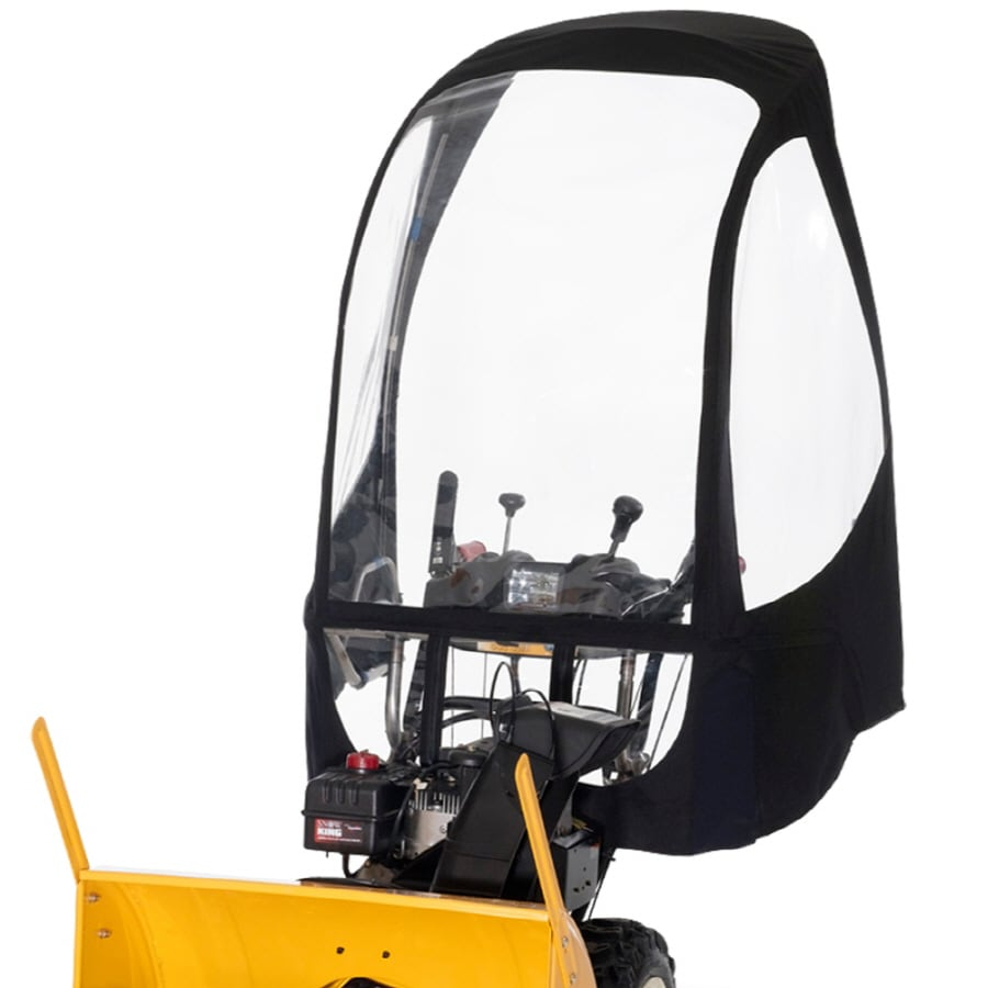 PreciseFit Black Two-Stage Snow Blower Snow Cab