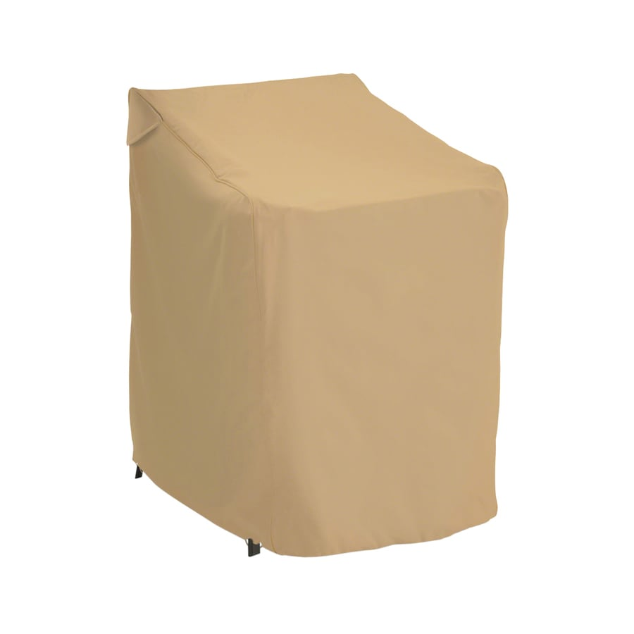 Classic Accessories Terrazzo Sand Dining Chair Cover