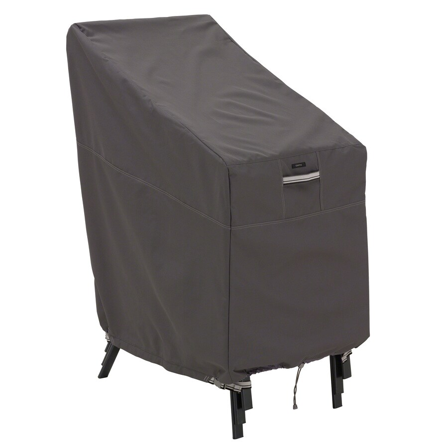 Classic Accessories Ravenna Dark Taupe Dining Chair Cover