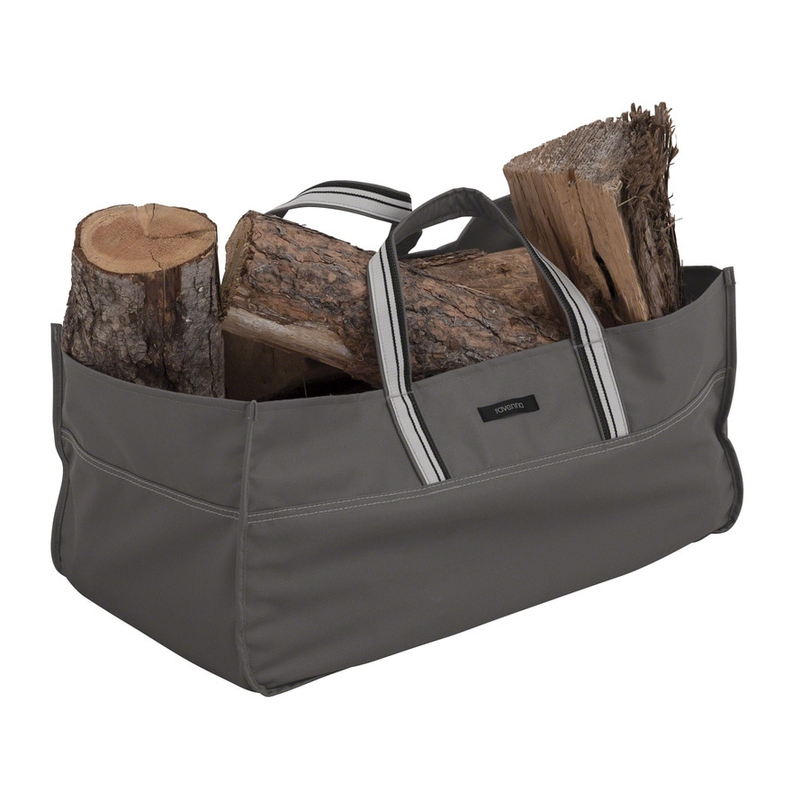 Classic Accessories 24.5-in L x 11.75-in W x 11.75-in H Polyester Firewood Cover