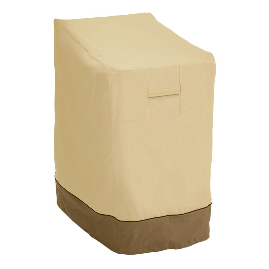 Classic Accessories Veranda Pebble and Bark Dining Chair Cover