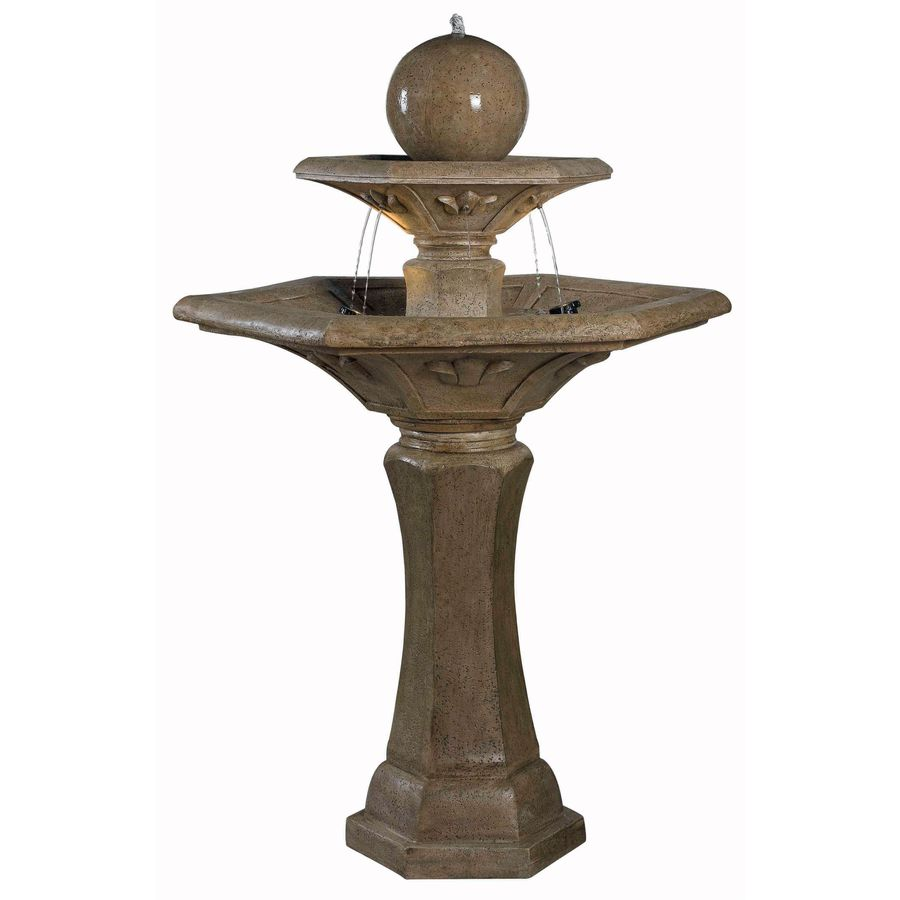 Kenroy Home Provence 57-in Outdoor Fountain