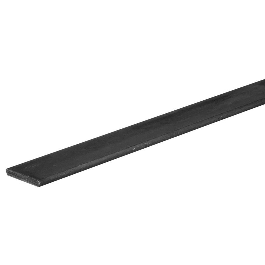 The Hillman Group 4-ft x 2-in Hot-RolLED Weldable Steel Slotted Metal Flat Bar