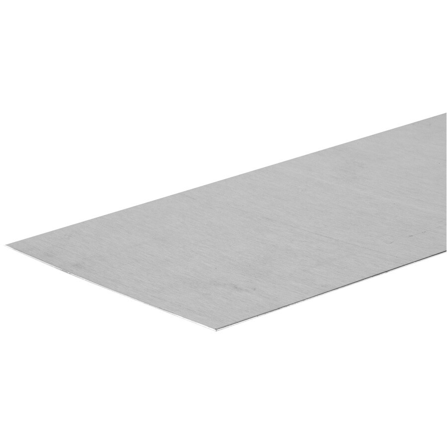 The Hillman Group 6-in x 2-ft Aluminum Sheet Metal