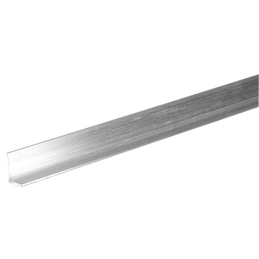The Hillman Group 4-ft x 1/2-in Aluminum Solid Angle