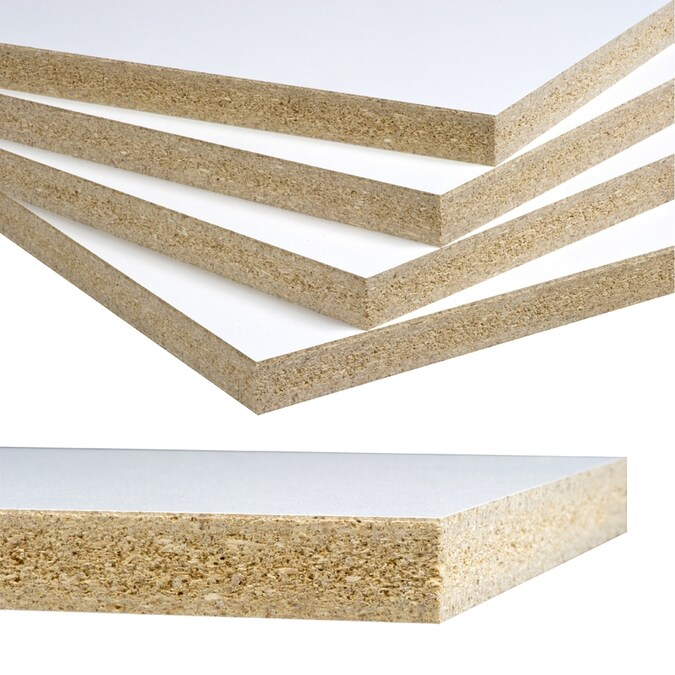 Duramine Actual 0 5 In X 49 In Mdf In The Mdf Department At Lowes Com