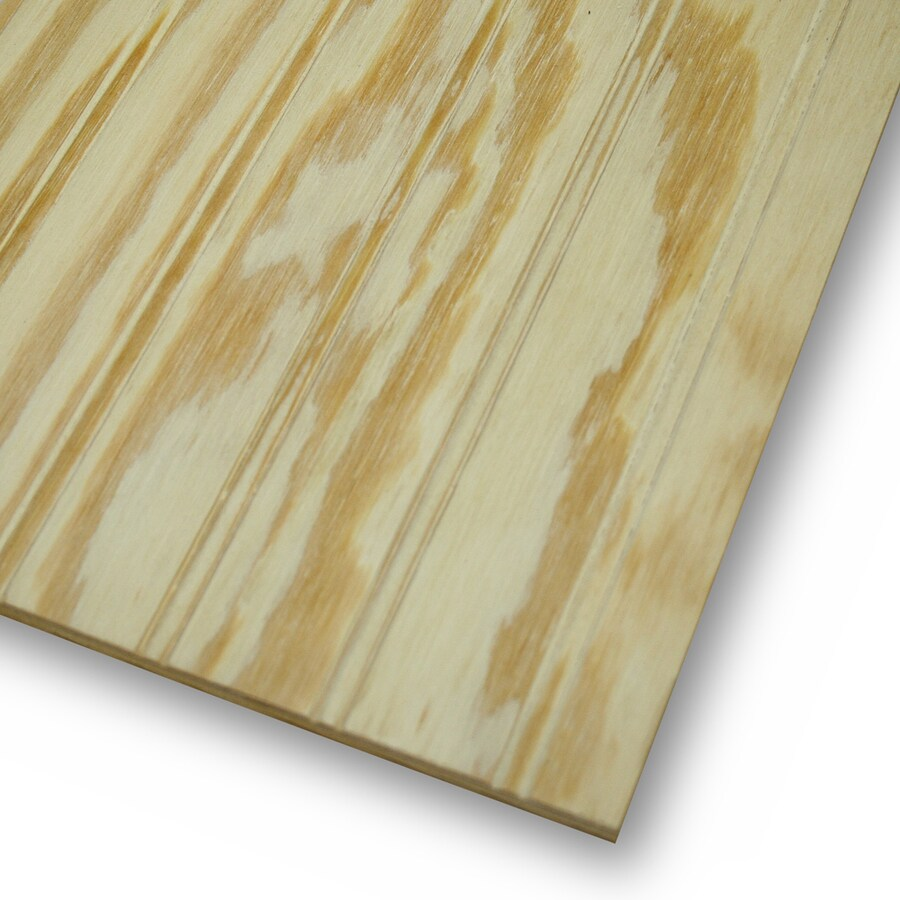 Natural Wood Plywood Untreated Wood Siding Panel (Common: 0.344-in x 48-in x 96-in; Actual: 0.313-in x 47.87-in x 95.87-in)