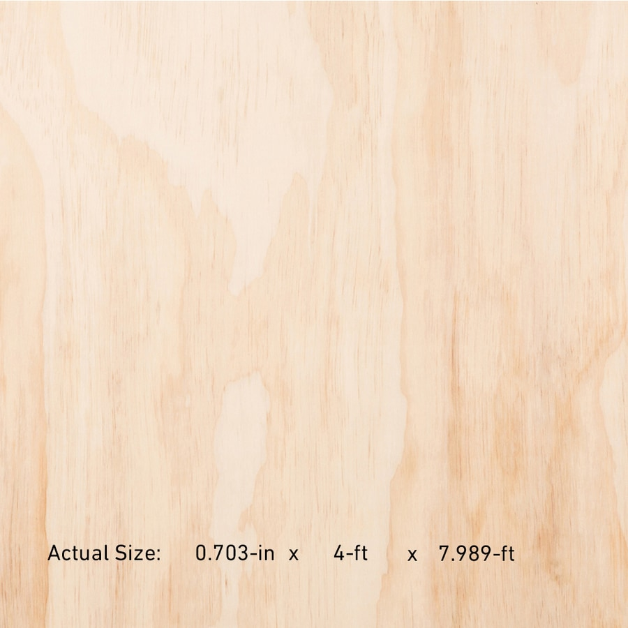 23/32 CAT PS1-09 Douglas Fir Sanded Plywood, Application as 4 x 8