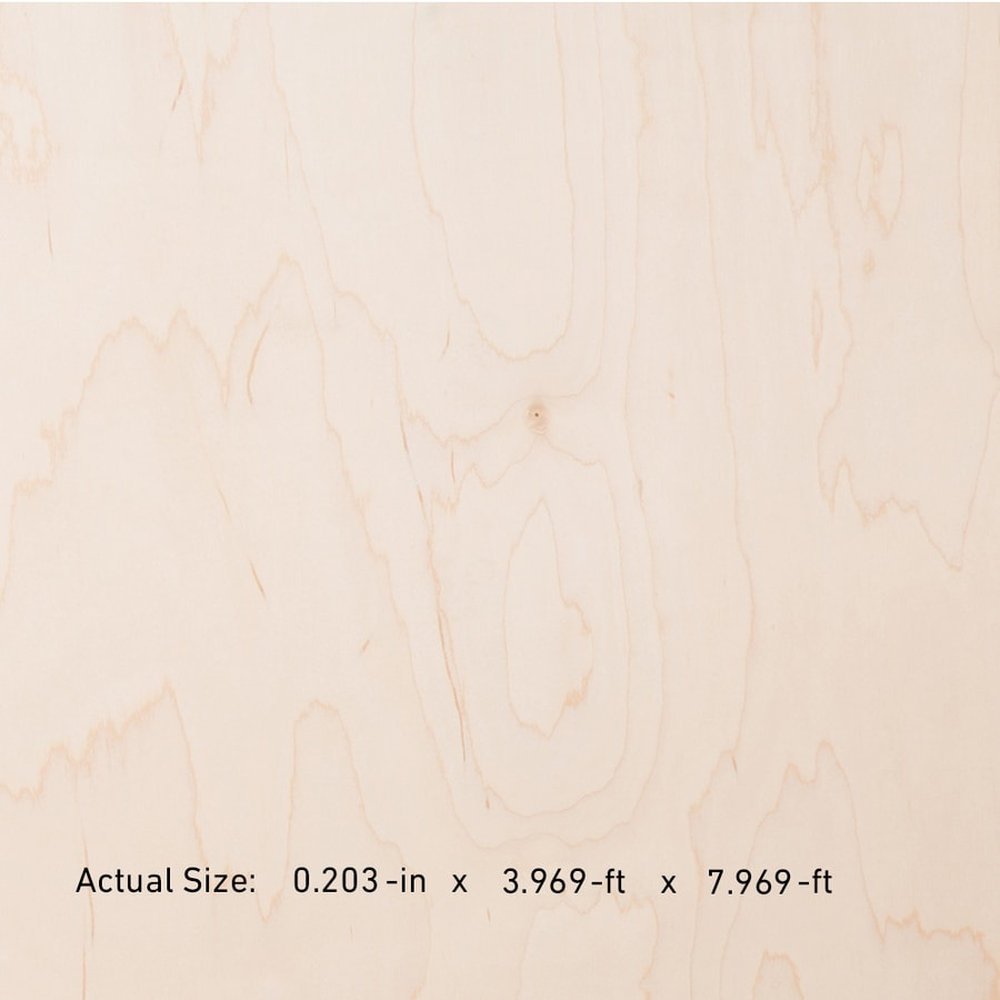 Top Choice SkyPly 1/4-in Common HPVA Maple Plywood, Application as 4 x 8