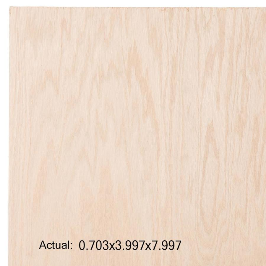 Top Choice SkyPly 3/4-in Common HPVA Oak Plywood, Application as 4 x 8