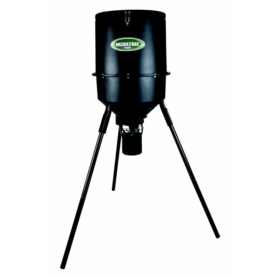 Moultrie Products 30-Gallon Black Polyresin Game Feeder