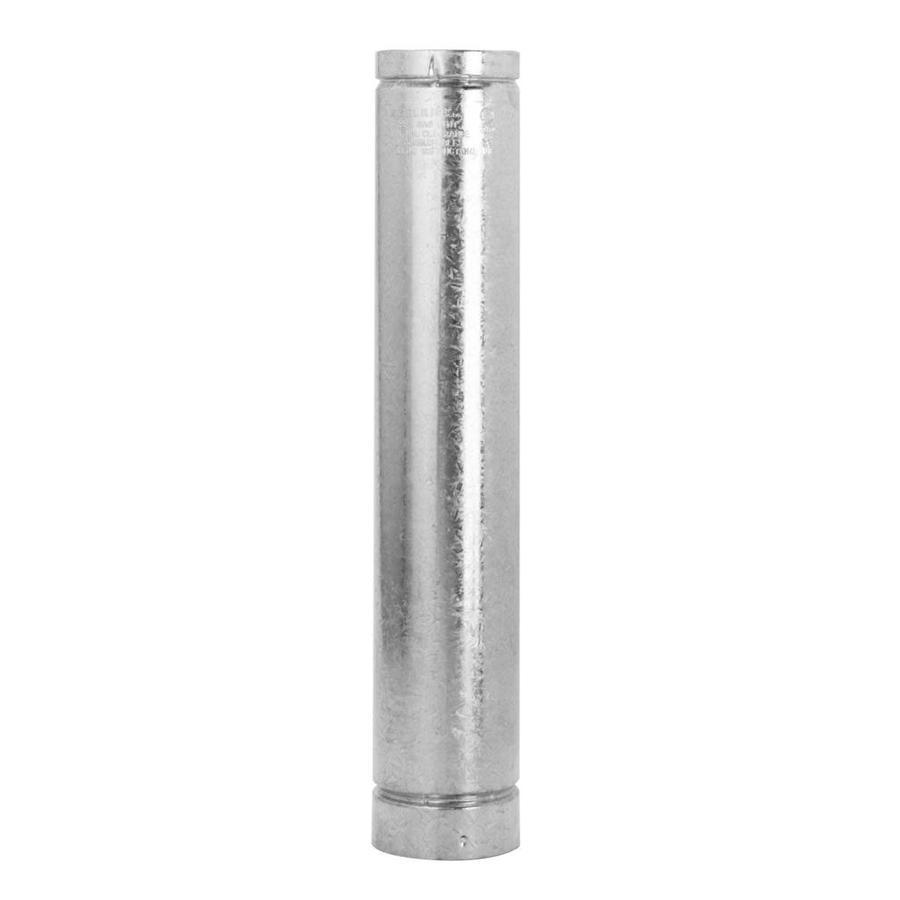 Selkirk 3-in x 36-in Galvanized Pipe