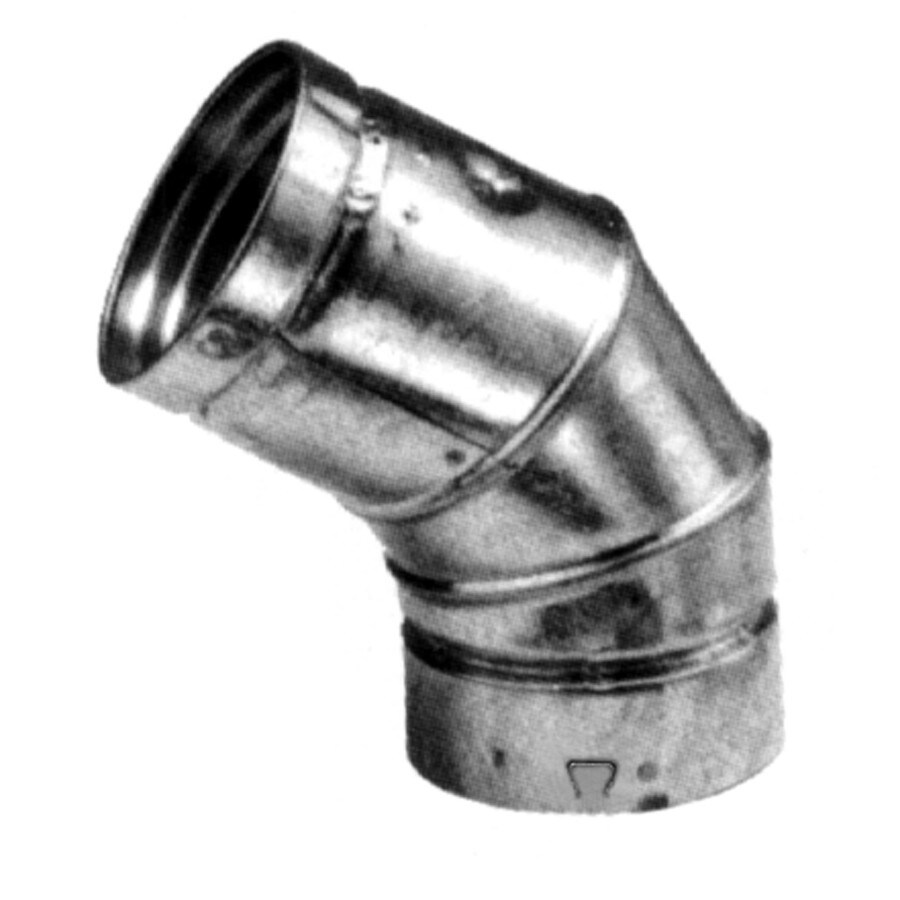 Selkirk Galvanized Steel Duct Elbow