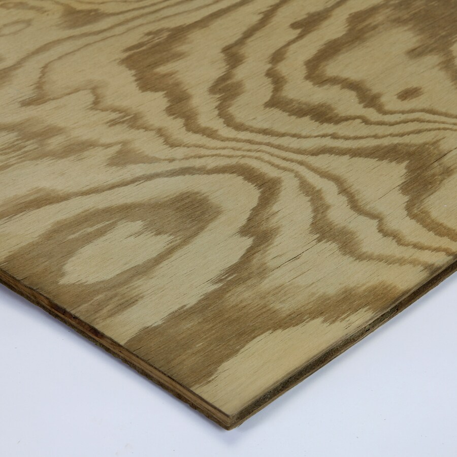 Severe Weather Pine Sanded Plywood (Common: 1/2-in x 2-ft x 4-ft; Actual: 0.453-in x 23.75-in x 47.75-in)
