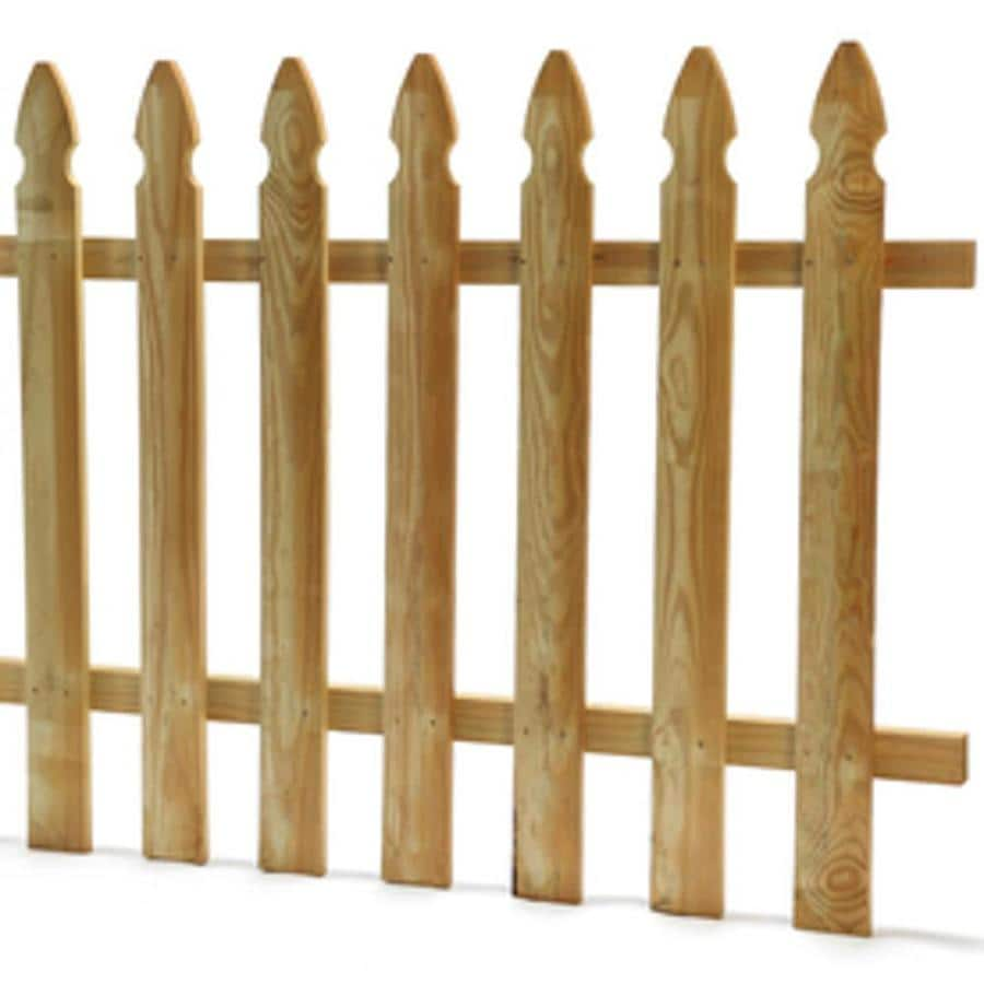 Severe Weather Pressure Treated Pressure Treated Pine Privacy Fence Panel (Common: 8-ft x 3-ft; Actual: 7.958-ft x 2.3-ft)