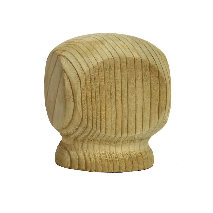 Top Choice Pressure Treated Southern Yellow Pine Deck Post Cap (Fits Common Post Measurement: 4-in x 4-in; Actual: 3.75-in x 3.25-in x 3.25-in)