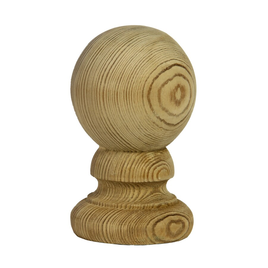 Top Choice Pressure Treated Southern Yellow Pine Deck Post Cap (Fits Common Post Measurement: 4-in x 4-in; Actual: 5.375-in x 3.0625-in x 3.0625-in)