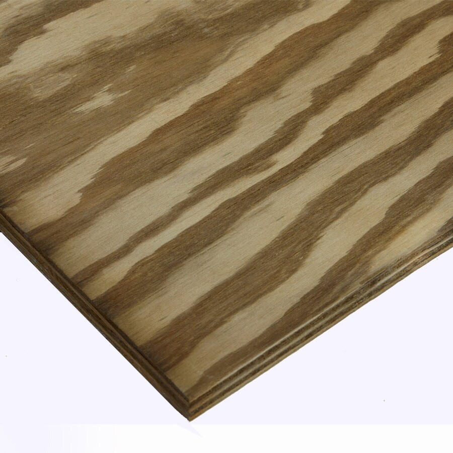 Severe Weather Pine Pressure Treated Plywood 23/32 CAT PS1-09 (Common: 3/4 x 4-ft x 8-ft; Actual: .758-in x 47.875-in x 95.875-in)