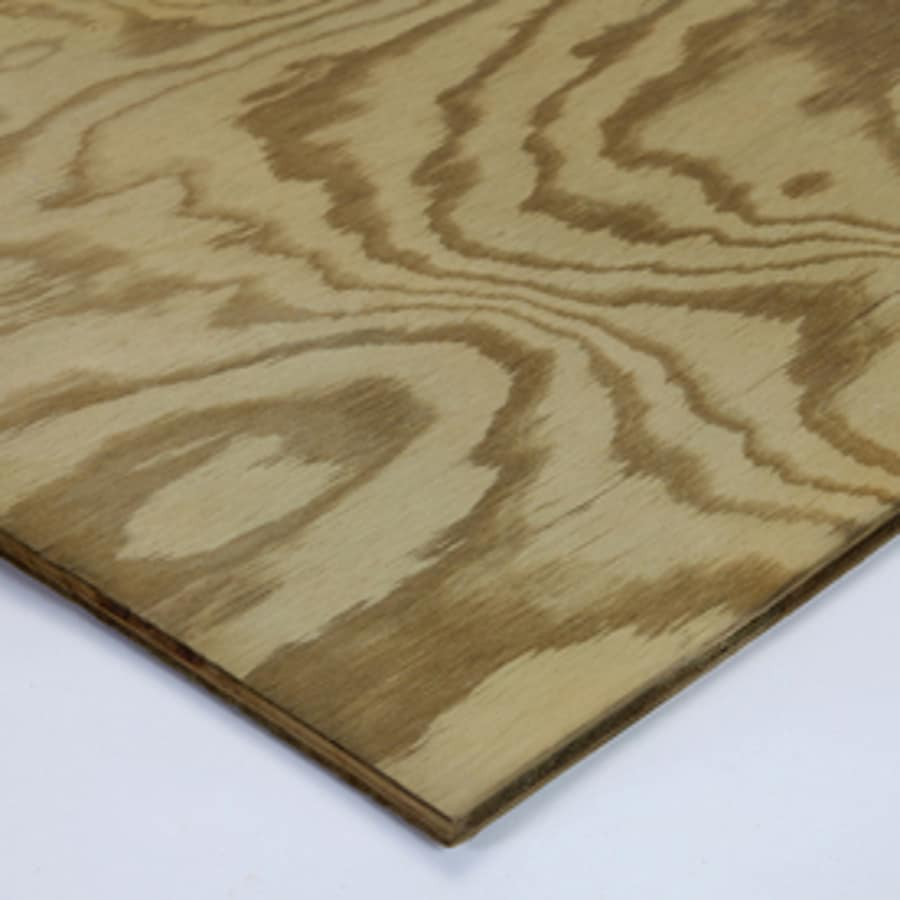 Shop Severe Weather Max 1 2 In Common Southern Yellow Pine Plywood Sheathing Application As 4 X