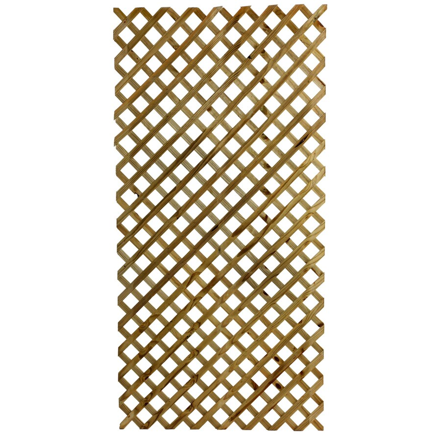 Severe Weather Wood Southern Yellow Pine Lattice (Actual: 0.75-in)