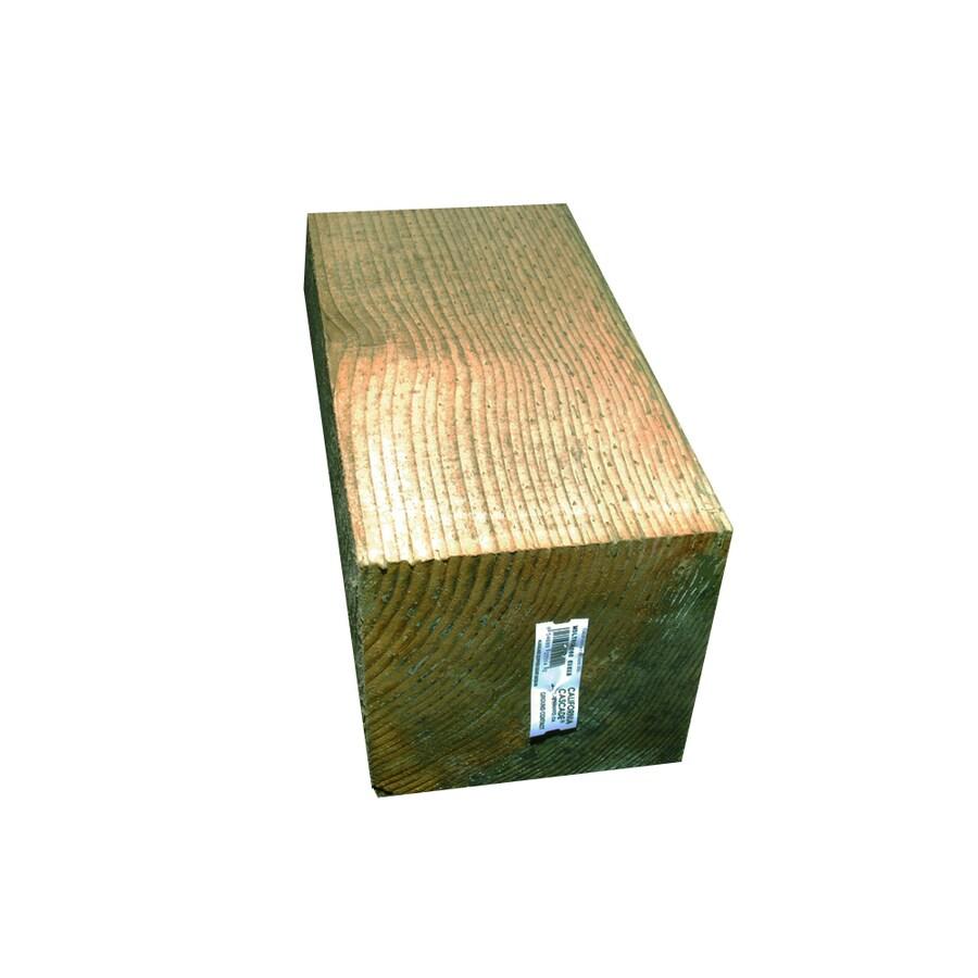 Severe Weather Pressure Treated Landscape Timber (Actual: 5.5-in x 5.5-in x 10-ft)