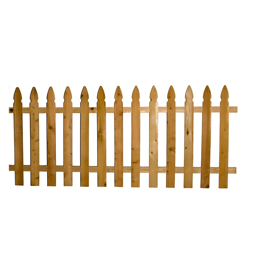 Severe Weather Cedar Fence Panel (Common: 8-ft x 3.5-ft; Actual: 8-ft x 3.5-ft)