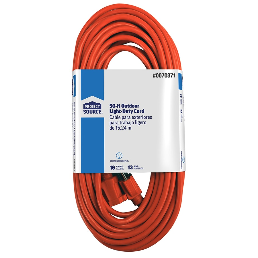 50 FT 16//3 SOOW SO SOO SOW BLACK RUBBER CORD EXTENSION WIRE//CABLE