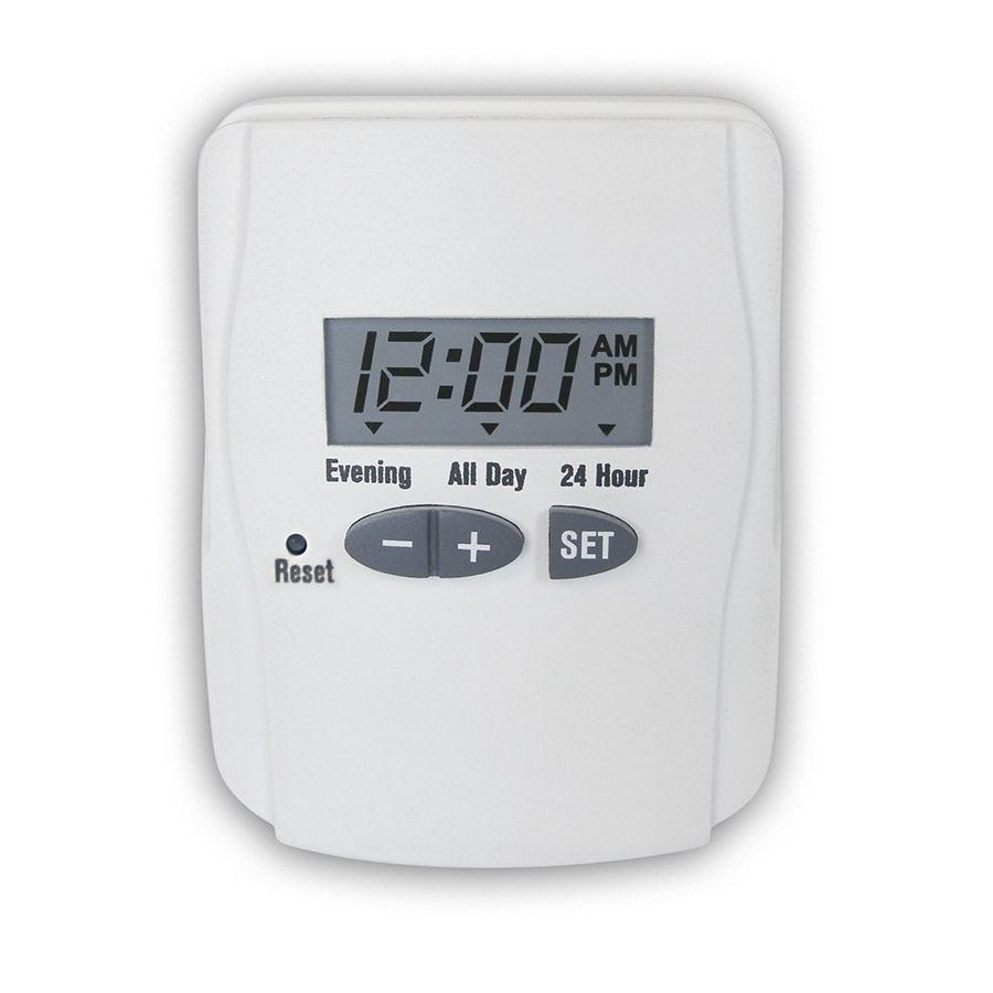 Utilitech 15-Amp Digital Residential Plug-in Lighting Timer