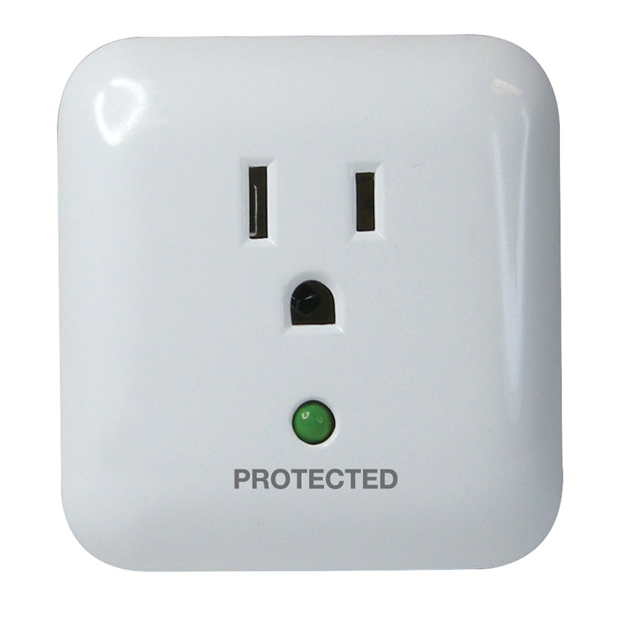 Utilitech 1-Outlet 900 Joules General Use Audible Alarm Surge Protector