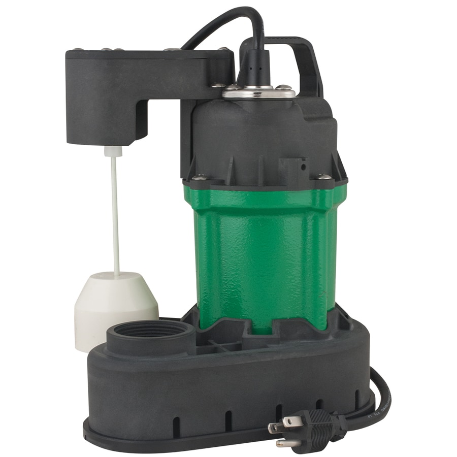 H2OPRO 0.33-HP Cast Iron Submersible Sump Pump