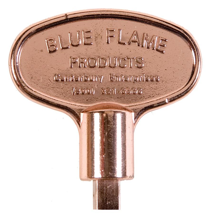 Blue Flame Universal Polished Copper Gas Valve Key