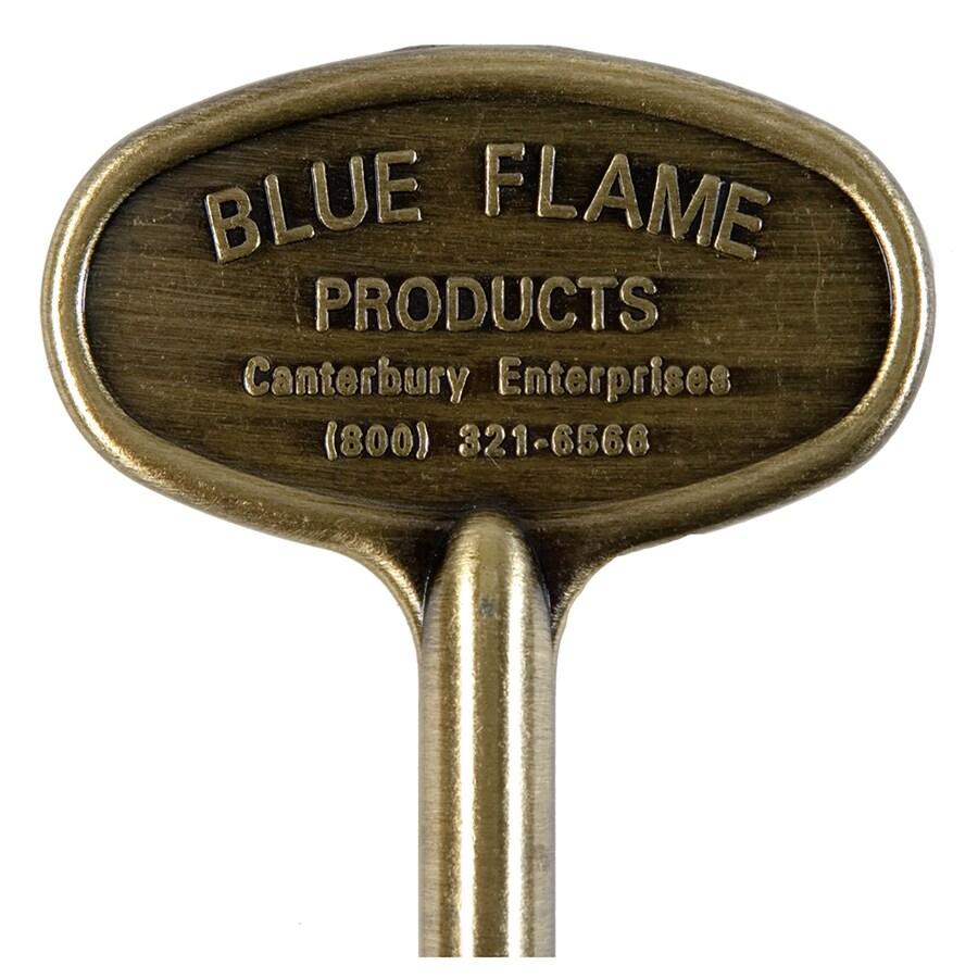 Blue Flame Universal Satin Chrome Gas Valve Key