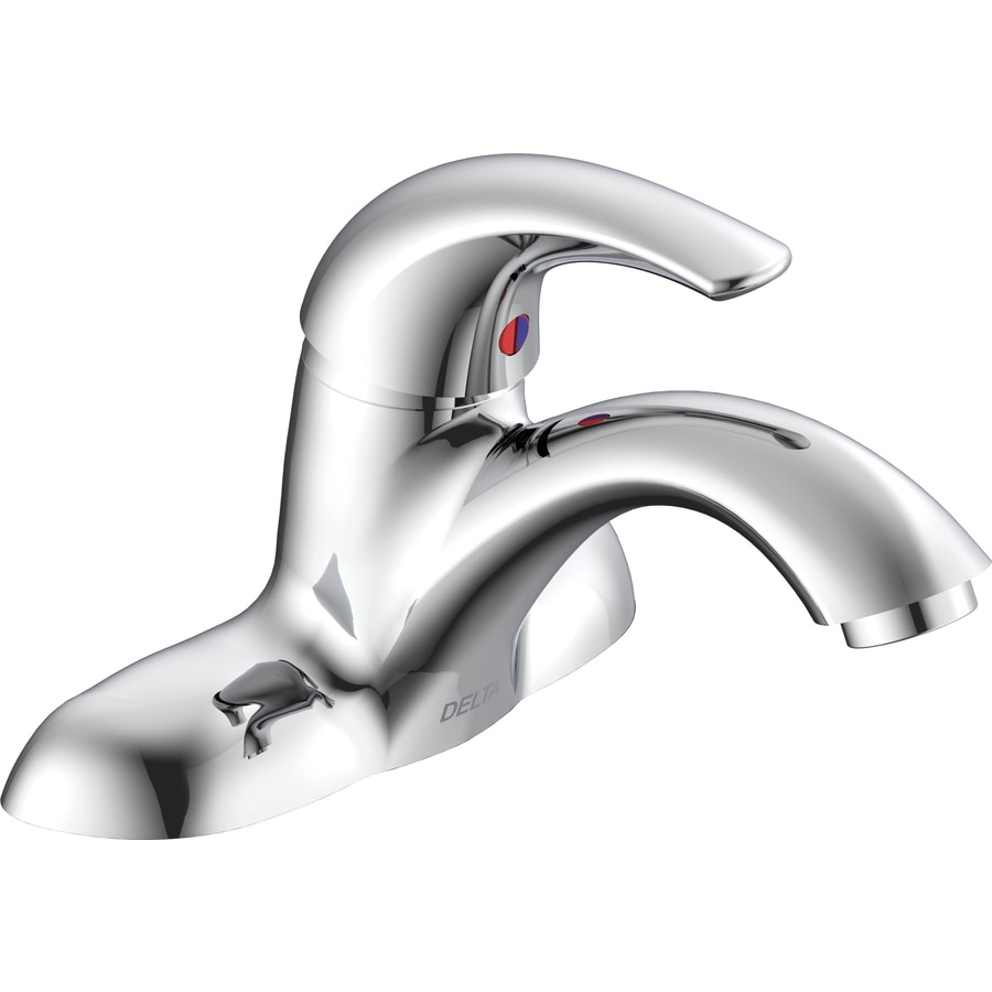 Delta Chrome 1-Handle Bathroom Sink Faucet