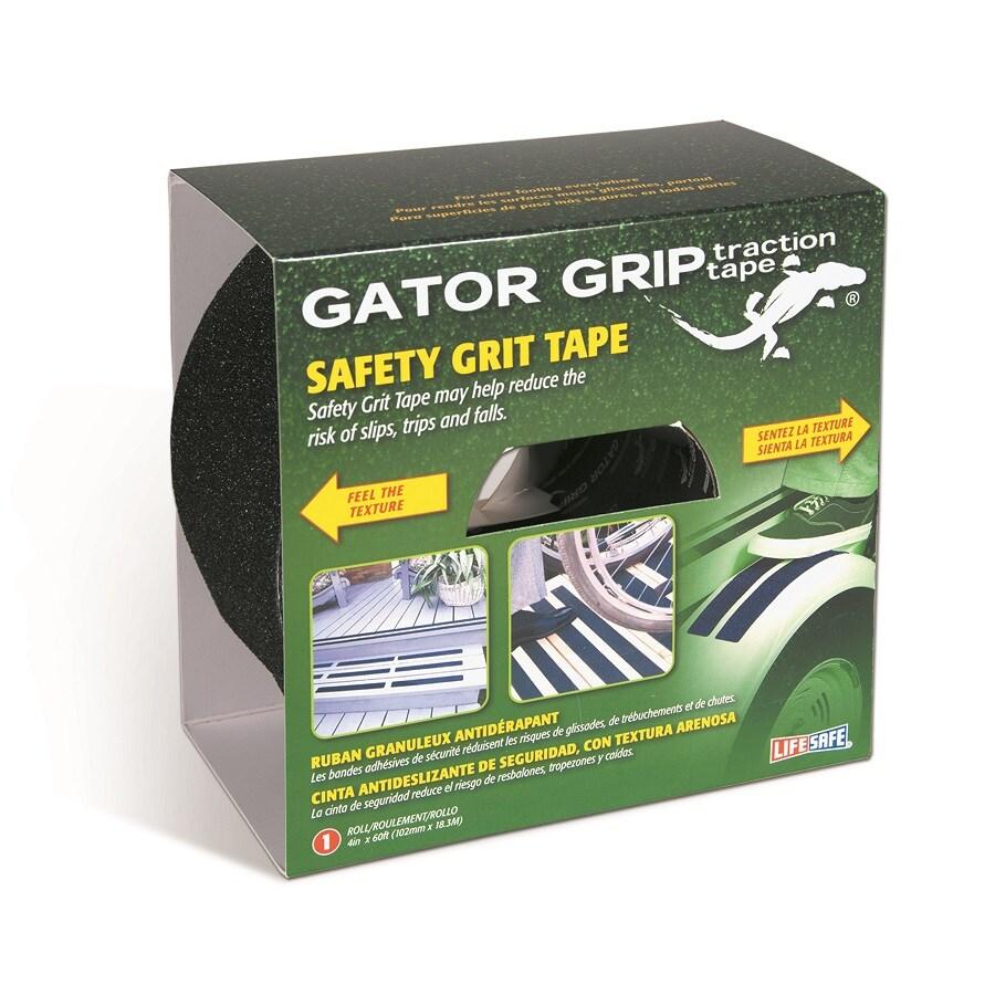 Life Safe Black Gator Grip Grit Tape