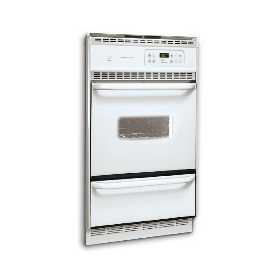 Frigidaire 24-in Self-Cleaning Single Gas Wall Oven (White)