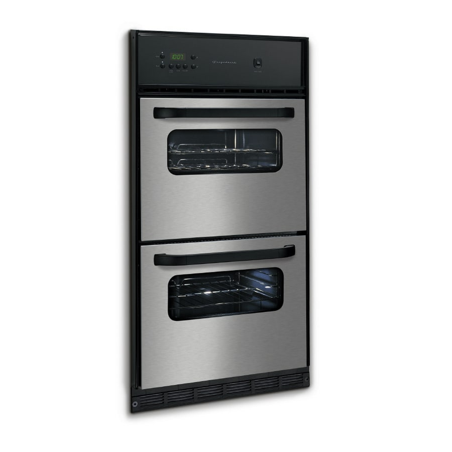 Frigidaire® Gallery 24-in Double Gas Wall Oven (Stainless Steel)